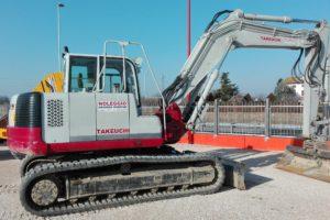 Escavatori cingolati da 13.0 a 16.0 ton