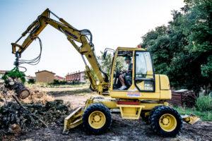 Escavatori gommati da 12.0 a 17.0 ton